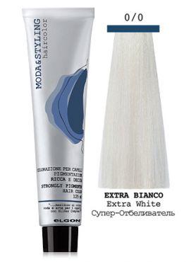Elgon MODA&STYLING крем-краска 0/0 Супер-Осветлитель