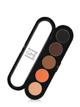 Make-Up Atelier Paris Palette Eyeshadows T02 Warm tones 2