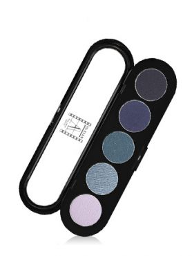 Make-Up Atelier Paris Palette Eyeshadows T27 Blue jeans