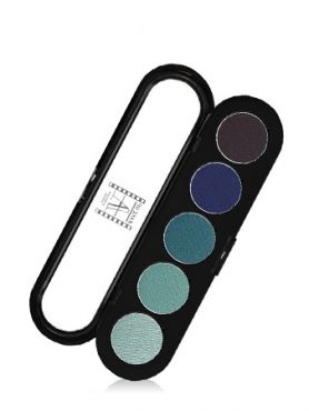 Make-Up Atelier Paris Palette Eyeshadows T25 Aquatic