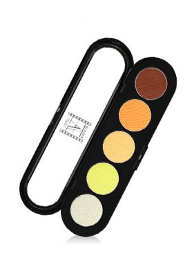 Make-Up Atelier Paris Palette Eyeshadows T06 Yellow orange tones
