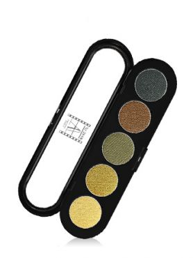 Make-Up Atelier Paris Palette Eyeshadows T18 Amazon tones