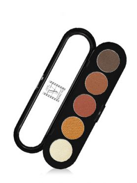 Make-Up Atelier Paris Palette Eyeshadows T15 Honey brown tones