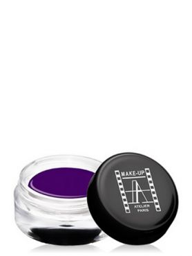 Make-Up Atelier Paris Gel Color Waterproof CGVF Dark purple