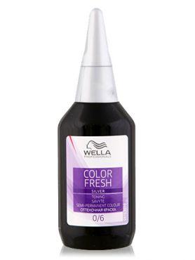 Wella Color Fresh Silver Оттеночная краска 10/81 Яркий Блондин Жемчужно-пепельный