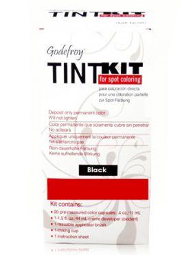 Godefroy Краска-хна профессиональная для бровей черная
