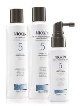 NIOXIN Система 5 для жестких волос XXL-формата